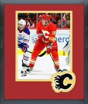 Matthew Tkachuk 2016-17 Calgary Flames - 11 x 14 Team Logo/Matted Framed Photo - $42.95