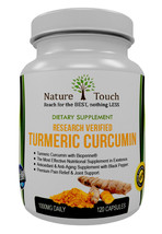 Research Verified Turmeric Curcumin,Turmeric Curcumin With Bioperine,1000 Mg  - $19.79+