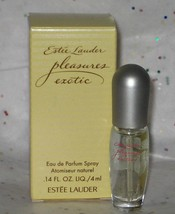 Estee Lauder Pleasures Exotic Perfume Spray Mini .14 oz/4 ml  - $17.98