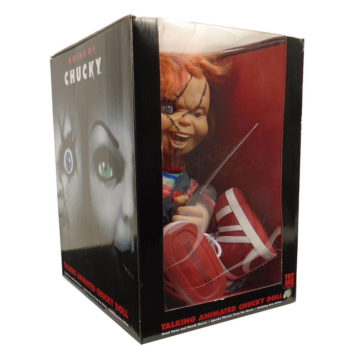 Bride of Chucky Movie: 2015 Animated Talking Chucky Life Size 24