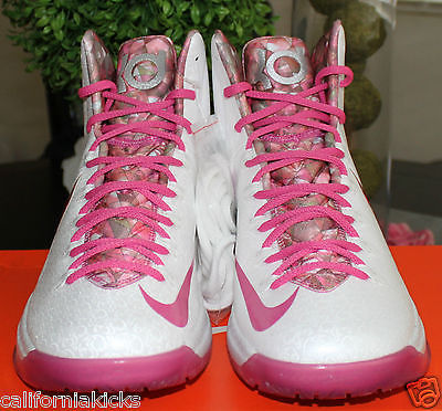 6402d14e2223 NIKE KD V Premium sz 11.5 Aunt Pearl Edition Think Pink Breast Cancer  Awareness