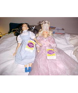 2 - Wizard Of Oz Glinda The Good Witch Doll (Rare) & Dorthy by Presents ... - $27.99