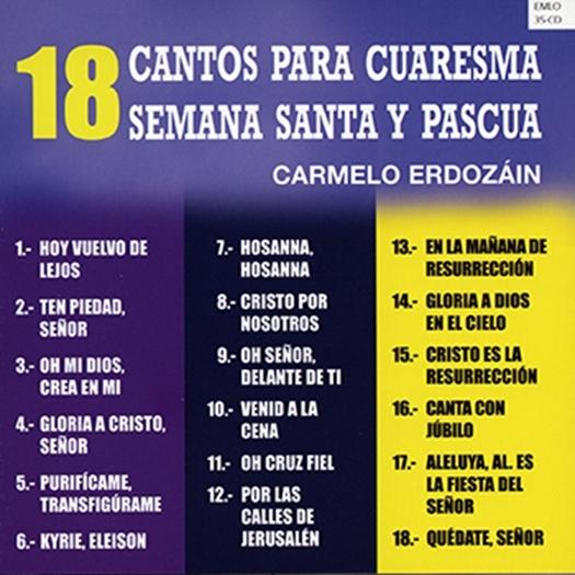 18 cantos para cuaresma semana santa y pascua 30137916