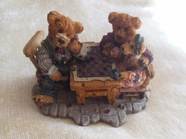 Boyds Bears Grenville w/Matthew & Bailey..Sunday Afternoon Resin-Bearstone #2281 - $34.65