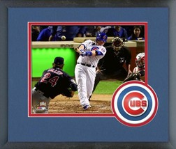 Miguel Montero Cubs Game 3 of the 2016 World Series -11x14 Matted/Framed Photo - $42.95
