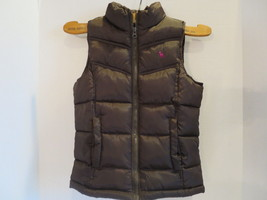 Old Navy Childs Quilted Vest Brown Size Mediun Pre-Owned - $18.68
