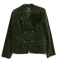 Talbots Black Label  Army Green Jacket,Military Look NWT, 14  Woman's Ve... - $55.99