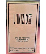 Factory Sealed Carlo Corinto L'INIZIO SPORT 3.3 oz EDT Spray for Men - $54.95