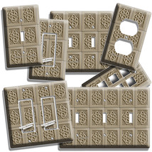 Celtic Knot Irish Tile Design Light Switch Outlet Wall Plate Kitchen Room Decor - $9.99+