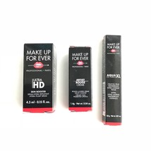 Makeup Forever 3-Piece Lot Eye Pencil Lipstick Skin Booster Travel Size New - $15.63