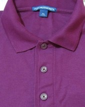 Port Authority Men's Solid Orchid/Violet Casual/Polo Shirt Size: XL