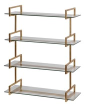 UTTERMOST Auley Wall Shelf, 04038, Gold Leaf Fi... - $437.80