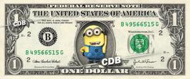 Despicable Me MINION REAL Dollar Bill Disney Cash Money Collectible Memo... - $8.88