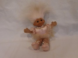 "Troll Russ 6"" Troll Kidz ballerina plush Troll Doll Tutu Ballerina Shoes - $6.82"
