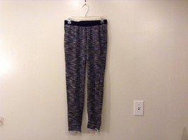 Vox Unisex Populi Grey Black/White Sweatpants Size Medium