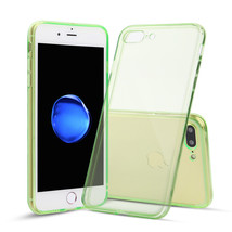 For iPhone 7 Plus Case Thin Rubber Transparent Soft Silicone Shockproof ... - $6.96