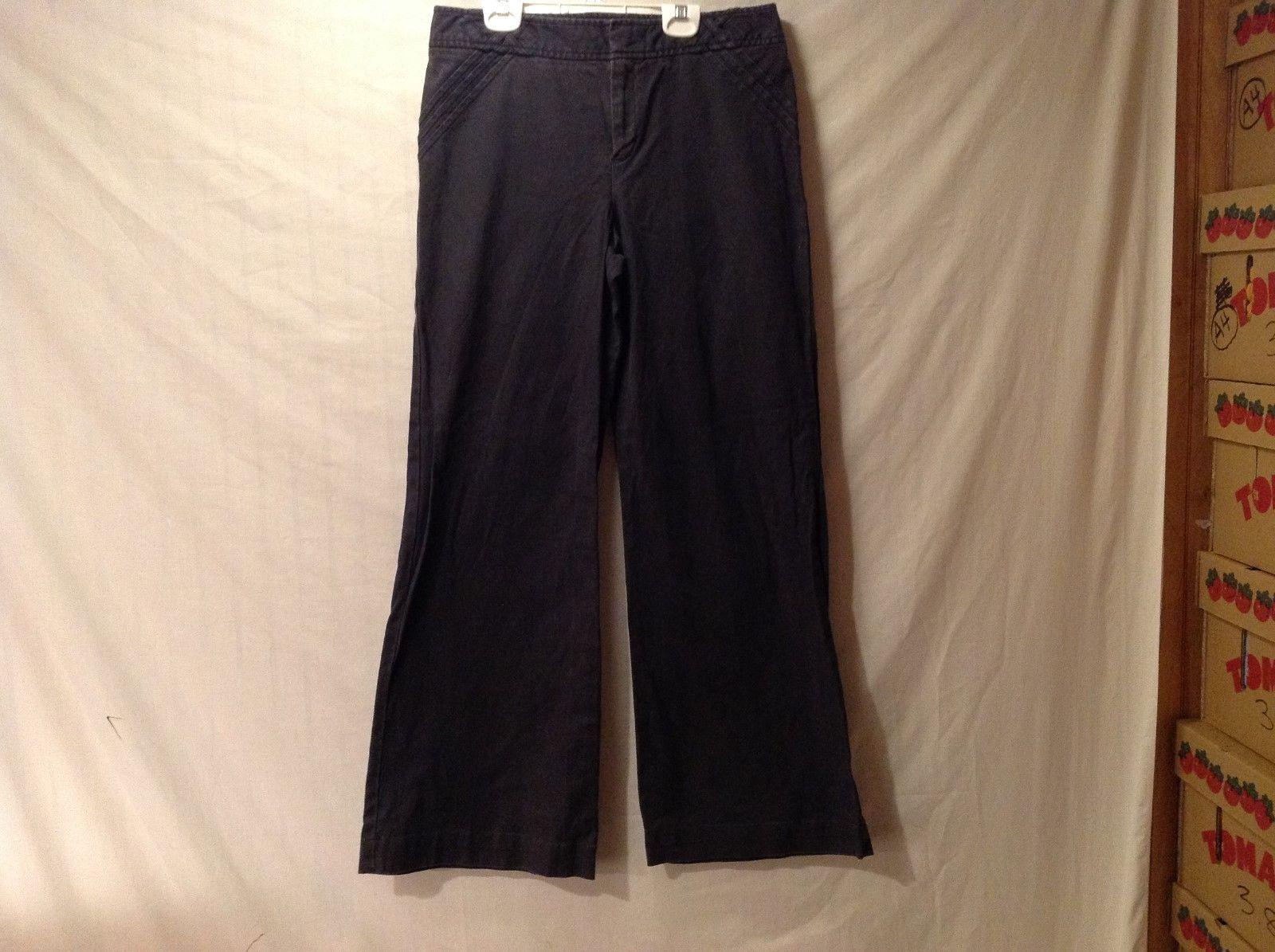 Womens Low-Rise GAP Black Pants Jeans Size 8