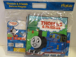 Thomas The TRAIN & Friends FELTKIDS Deluxe PLAYSET Folding COUNTRY/SEA P... - $18.68