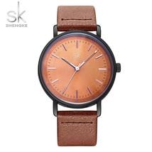 Shengke Women's Bracelet Watches Quartz Wrist Watch Vintage Design Casua... - $32.13