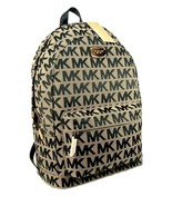 Michael Kors MK Logo Backpack Book School Bag T... - $296.99