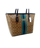 Coach C Signature Purse Hand Bag Varsity City Z... - $188.09