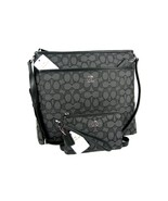 Coach C Signature Purse Cross Body Bag & Wristl... - $197.99