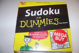 Sudoku for Dummies & Kakuro for Dummies 2 pack game set - $15.32