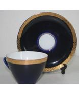 VINTAGE Lomonosov Russia USSR   porcelain Cobal... - $48.00