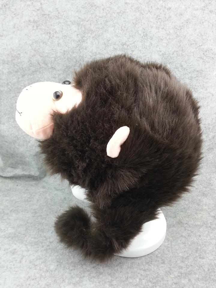 Cute Kawaii Anime Animal Hat Rave Beanie Cap Furry Plush Cosplay Monkey T3