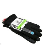 Isotoner Womens Ladies Gloves Black Smart Touch... - $22.76