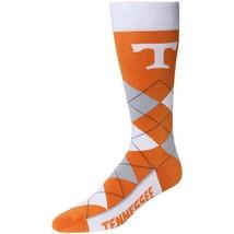 NCAA Tennessee Volunteers Vols Argyle Unisex Crew Cut Socks - One Size Fits Most - $13.95