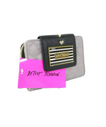 Betsey Johnson Logo Bifold Wallet Purse Hand Ba... - $49.49