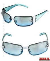 New DG Womens Fashion Designer Sunglasses Shades Rectangular Blue Tint L... - $8.17
