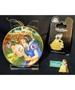 Walt Disney World & Parks Snow White Bundle~Mini Plate Ornament & Collec... - $8.90