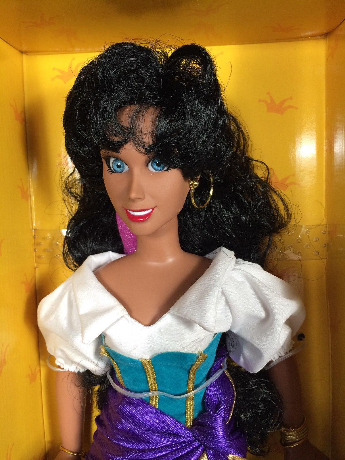 "Disney Hunchback of Notre Dame ESMERALDA Keepsake Doll 15"" NEW in Box Applause"