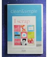 CLEAN & SIMPLE: SCRAPBOOKING - The Digital Kit - I SCRAP   NEW in Shrink... - $7.83