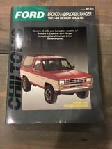 Chiltons Ford Bronco 2 Explorer Ranger 1983-1994 Repair Manual #8159 - $18.70