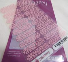 Jamberry Think Pink 0316 43A2  (Full Sheet) Breast Cancer Awareness Nail - $18.50