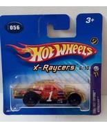 Hot Wheels 2005 First Edition FE 056 X-Raycers Stocker 5sp_blk Short Car... - $3.36