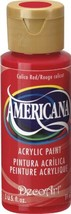 DecoArt Americana Acrylic Paint 2-Ounce Calico Red - $10.48