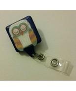 Owl badge reel key card ID holder lanyard retractable scrubs  - $5.95