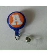 Letter A badge reel key card ID holder lanyard retractable scrubs - $5.95