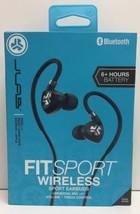 (New) JLAB Fit Sport Wireless Sport Earbuds - Black - $21.99