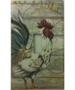 Rooster Light Switch Cover home wall decor outlet kitchen farm country t... - $4.75