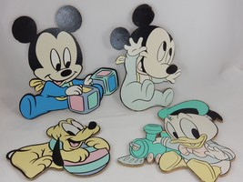 Disney Baby Mickey Mouse Donald Pluto Pressed C... - $29.69