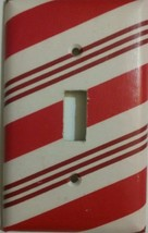 Candy Cane Light Switch Cover lighting outlet wall home Christmas decor ... - $7.99