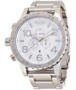 NIXON wristwatch 51-30 CHRONO skin tea one Thirty Chrono HIGH POLISH / WHITE ... - $334.62