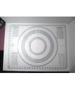 """New Mainstay 24x18"""" Silicone Pastry Mat Measurements/All Size Pies Pizza... - $12.99"""