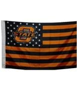 Oklahoma State University Cowboys 3'x5' Stars Stripes Banner Flag - Go OSU! - $19.99