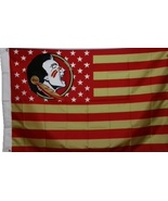 Florida State University Seminoles 3'x5' Stars Stripes Banner Flag - GO ... - $19.99